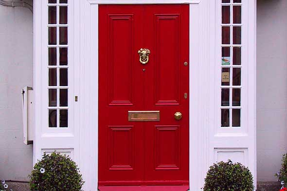 Why Do People Have Red Front Doors - womenofpower.info