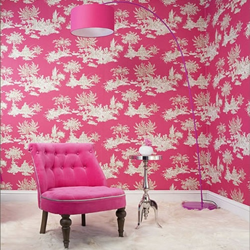 Colour - pink wallpaper