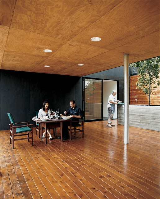 ceiling - plywood