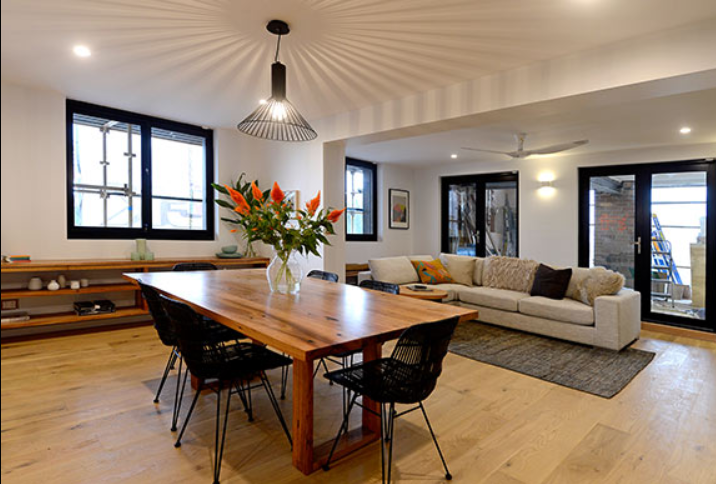 the block room reveal living   dining rooms