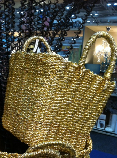 BB gold baskets