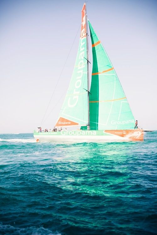Mint sailboat