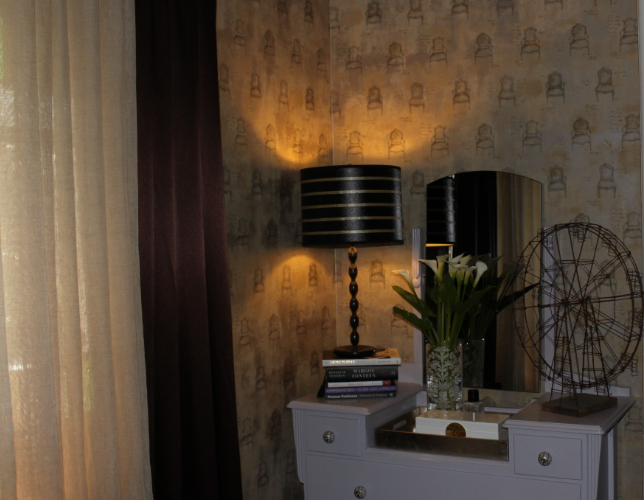 After lampshade