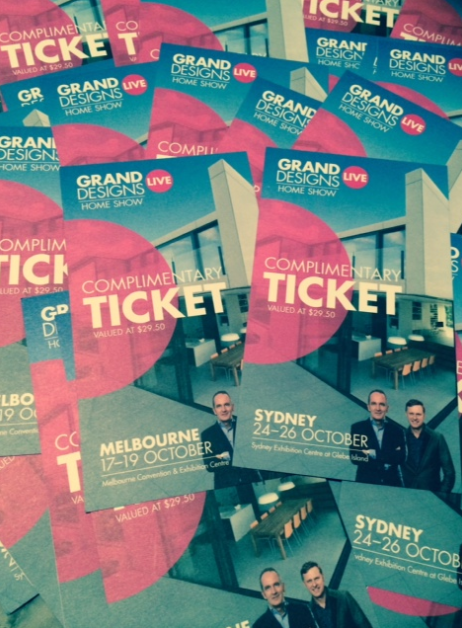 Complimentary tickets to Grand Designs Live - The Style Project