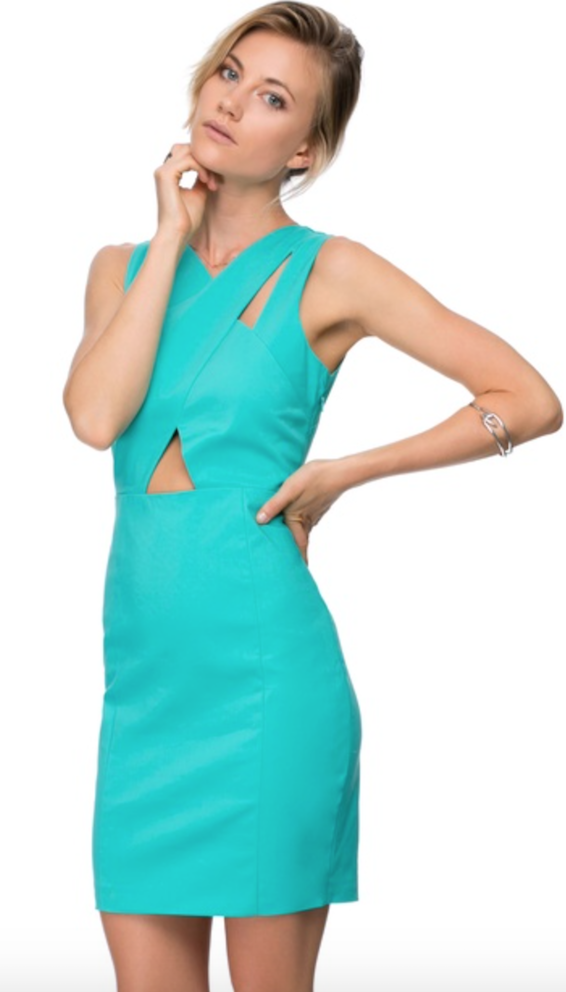 Turquoise dress - The Iconic
