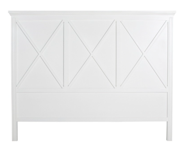 White Manto Timber Headboard - The Style Project