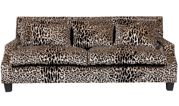 Leopard sofa - The Style Project