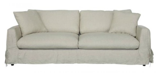 Super comfey slip cover sofa - The Style Project