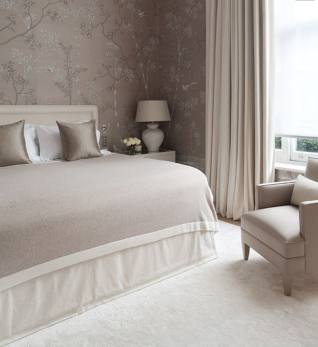 Neutral and classic bedroom