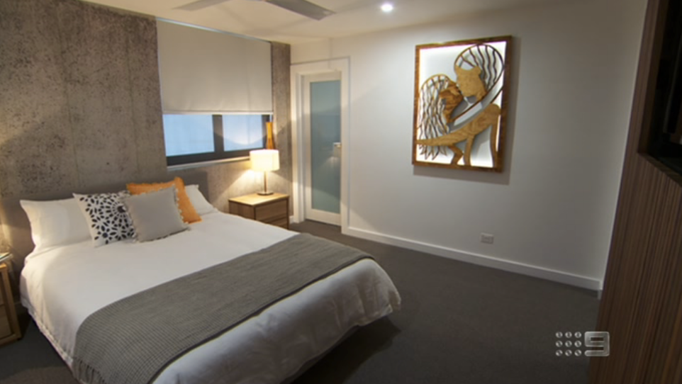 The Block Room Reveal Master Bed Amp Dressing Room