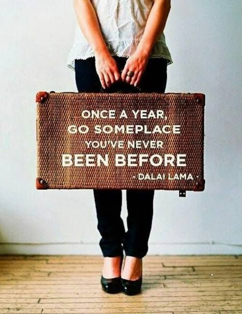 TRAVEL - once a year