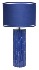 Blue Table Lamp Reduced