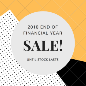 End of financial year sale 2018